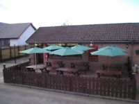 FREEHOLD SHOP WITH 36 SEAT CAFE & LAND FOR SALE,OR INTERNAL CONVERSION TO FAST FOOD OR RESTAURANT