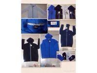 Hugo boss men's hoodies hoody £25 each full zipper black label