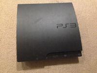 Playstation 3 slim / 320 GO - 9 jeux - micro - manette neuve