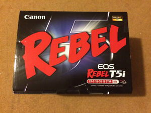 Canon T5i with EF-S 18-55mm BRAND NEW