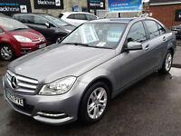 Mercedes-Benz C-ClassC220 CDI BlueEFFICIENCY Executive SE (FULL LEATHER+SAT NAV)