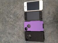 iPhone 3 &  iPhone 4 - 2 iPhone 4 otter boxes 4sale