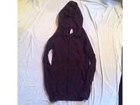 Slim fit brown hoodie
