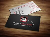 Personalised QR Card to your site, Facebook, Business ...etc