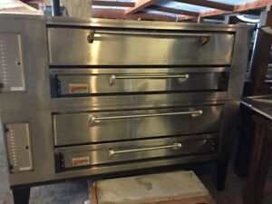 Marsal SD 660 Double Stack Pizza Oven