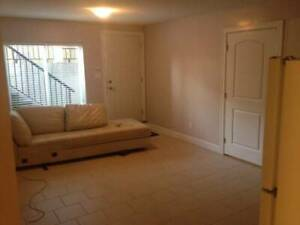 1 bedroom basement suite for rent March 1 $900