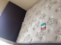 Brand new queen size bed, mattress still has tags