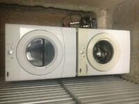 4yr old Stackable Washer Dryer combo Amana 27'