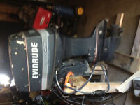 Outboard Motor 60 HP Evinrude