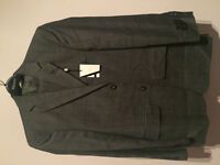 ALFRED SUNG Men's Suits Size 36S Pants 30 (NEW)