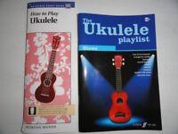 ukulele song books x 2
