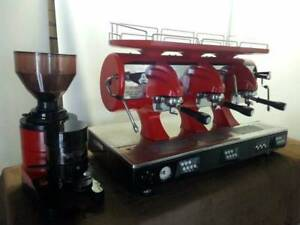 3 Group Astoria Sibilla Espresso Machine and Grinder