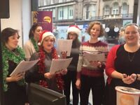 Charity Carol Singing in Edinburgh