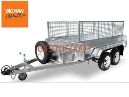 8×5 GALVANISED HYDRAULIC TIPPER TRAILER 3.5T ATM