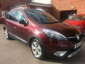Renault SCENIC XMOD DYNAMIQUE NAV BOSE PLUS DCI (red) 2015