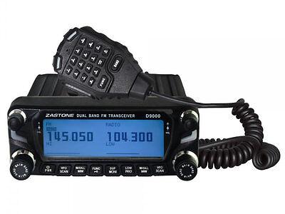 Zastone D-9000 VHF-UHF High Power Ham/ GMRS/ MURS / Business Mobile Transceiver