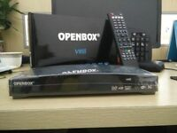 OPENBOX V8S EVERY S K Y CHANNEL 12 MONTHS INCLUDED