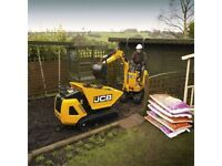 Mini Digger hire with Driver - London, Essex & Kent
