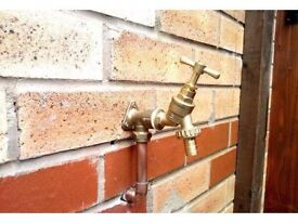Local plumber 14 years experience outside taps £55 !no cheap d.i.y kit!