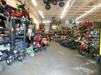 FROM BIG TO SMALL SINCLAIR'S MOTORSPORTS HAS THEM ALL!