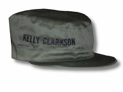 Kelly Clarkson-NEW Military Style Cadet Hat / Cap-Medium SALE FREE SHIP TO U.S.!