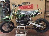 Outlaw 125cc Pitbike BRAND NEW 2016