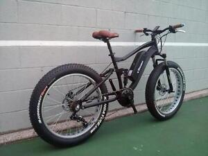 Electric fat bike snow bike hunting bike