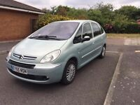 citroen xsara picasso 1.6 hdi diesel 5door 104K only excellent condition spotless Full history