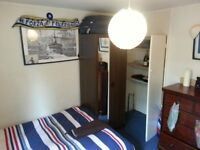 VERY NICE BIG DOUBLE ROOM WITH LOTS OF STORAGE & PRIVATE FRIDGE
