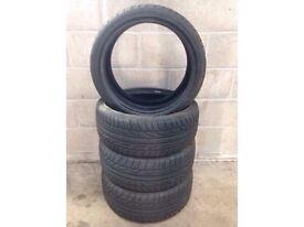 4 X 205/40 ZR17 84W XL - Dunlop SP Sport Maxx tyres.