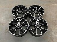 18 19 20 22″ Inch RS6 D Alloy Wheels A3 A4 A5 A6 A7 A8 Caddy Van Seat Leon Skoda 5x112