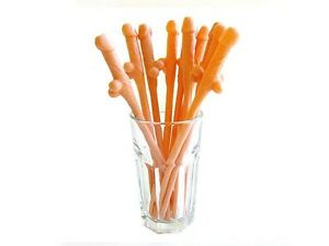 Hen-Night-Little-Dicky-Willy-Drinking-Straws-Brand-New