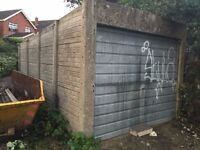 GARAGE - CONCRETE SECTIONAL - DISMANTLED READY FOR COLLECTION - 07504706927