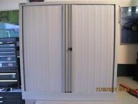Bisley Tambour Door Cabinet With Drawers NEW AST 40