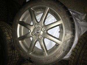 honda factory performance rims w// bfgoodrich gforce super sport