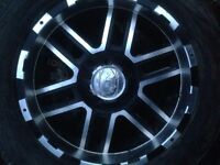 Ion alloys 20 inch with tires