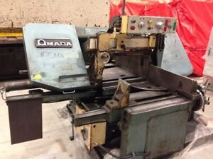 "AMADA SEMI AUTOMATIC 16""X27"" HORIZONTAL BANDSAW Cambridge Kitchener Area image 1"