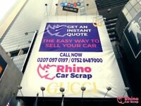 Sell your car today - all quotes beaten - collection today - immediate cash - call now 07528 487000