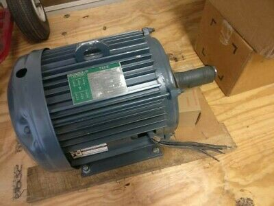 Lincoln Electric Motor T-4363 15hp 3490 Rpm 3ph 254t