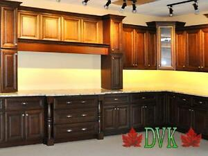 Kitchen Cabinets on sales -Whiskey Brown Maple