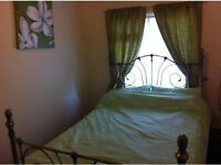 DOUBLE BEDD ROOM, FULLY FURNISHED , UNLIMITED INTERNET, BILLS INCLUDED, NO RENT FOR 1ST WEEK*