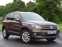 Volkswagen TIGUAN 2.0 TDi BlueMotion Tech Match 5dr (brown) 2014