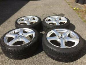 Yokohama All Season Tires & Rims - 225-40/R18