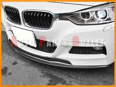 Details about AK Style Carbon Front Bumper Spoiler Lip Fit For 12-17 BMW  328i 335i w/ M Sport