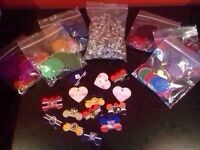 Selling off supplies for pet ID tag business