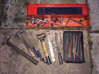 Bundle of tools, used in a car garage great lot £20