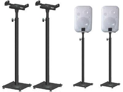 Lautsprecher-ständer (2 Stück Boxenständer Metall Lautsprecher-Stativ Lautsprecher Ständer BS16Bx2)