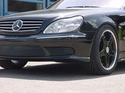 Mercedes S- Klasse W220 AMG Look Bausatz Ansätze Alle 10.1998-10.2002 l Radstand