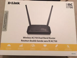 D-Link wireless AC750 Dual Band Router -BRAND NEW  Peterborough Peterborough Area image 1