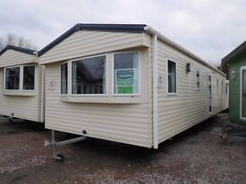 FULLY CENTRAL HEATED & DOUBLE GLAZED ABI VISTA PLATINUM 36 FOOT X 12 FOOT X 3 BEDROOMS 2011 MODEL
